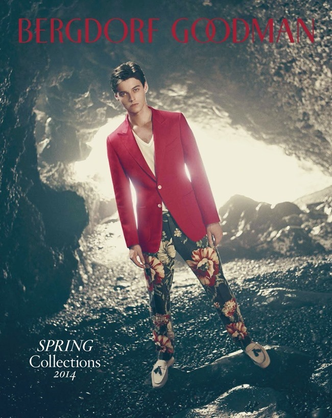 BERGDORF GOODMAN Robbie Wadge in Another Day In Paradise by Arnaud Pyvka. Bruce Pask, Spring 2014, www.imageamplified.com, Image amplified (1)