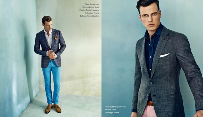 CAMPAIGN Lars Burmeister in Lighten Up for Barneys New York Spring 2014. www.imageamplified.com, Image Amplified (3)