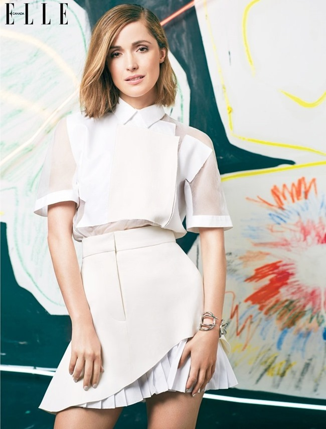 ELLE CANADA Rose Byrne in Art Issue by Colette De Barros. Katie Young, May 2014, www.imageamplified.com, Image Amplified (2)