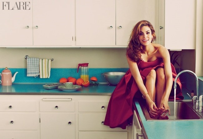 FLARE MAGAZINE Eva Mendes by Guy Aroch. Hayley Atkin, May 2014, www.imageamplified.com, Image Amplified (1)
