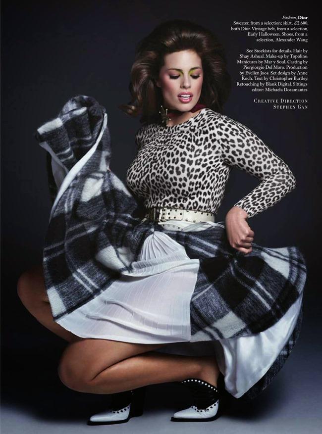 HARPER'S BAZAAR UK Beauty & The Best by Johnny Dufort. Carine Roitfeld, May 2014, www.imageamplified.com, Image Amplified (1)