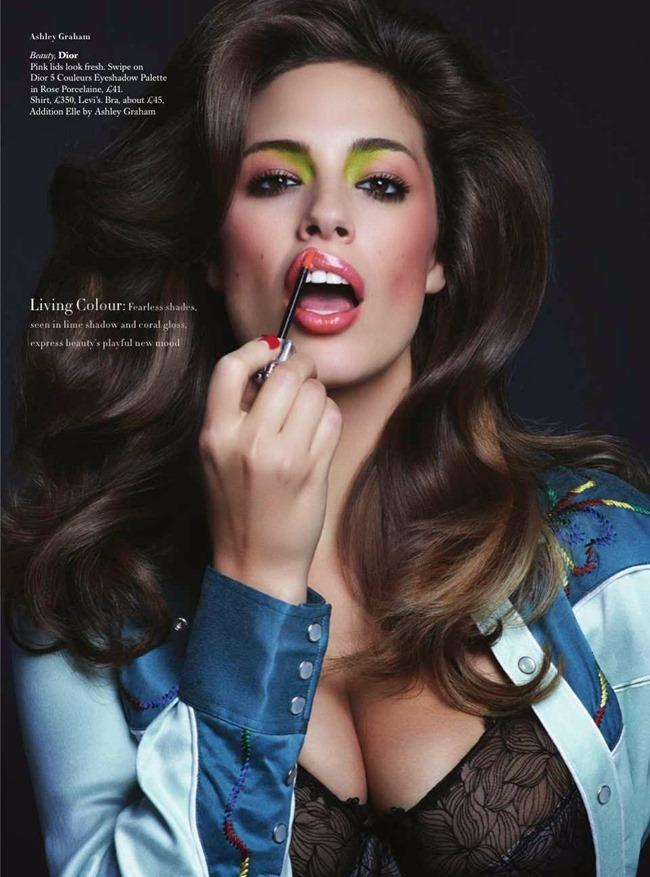 HARPER'S BAZAAR UK Beauty & The Best by Johnny Dufort. Carine Roitfeld, May 2014, www.imageamplified.com, Image Amplified (2)