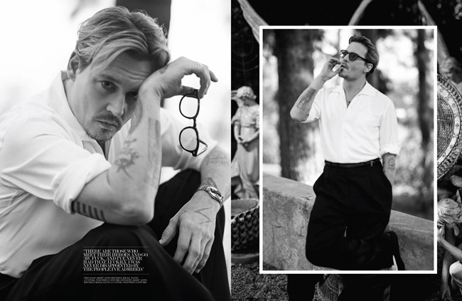INTERVIEW MAGAZINE Johnny Depp by Bruce Weber. Karl Templer, April 2014, www.imageamplified.com, Image Amplified (7)
