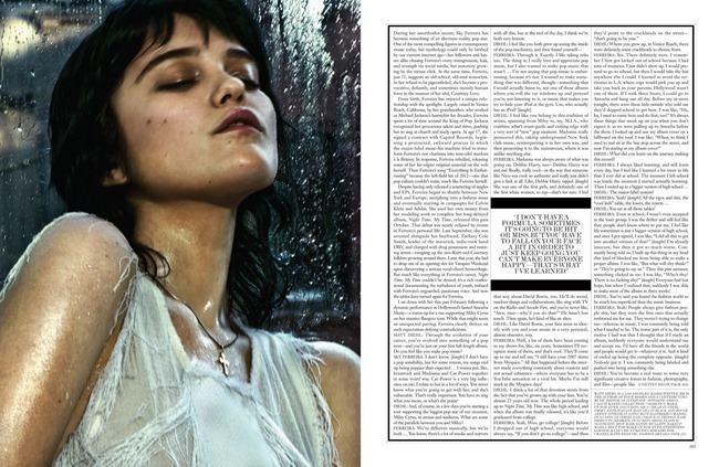INTERVIEW MAGAZINE Sky Ferreira in Sky by Chris Colls. Elin Svahn, April 2014, www.imageamplified.com, Image Amplified (1)