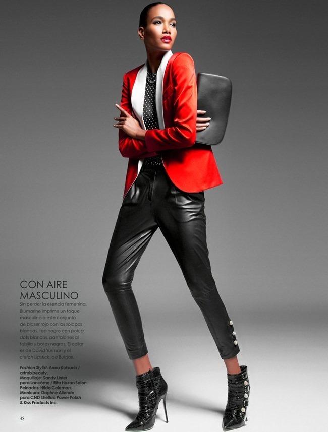 VANIDADES MAGAZINE Arlenis Sosa in El Rojo by Enrique Vega. Anna Katsanis, Spring 2014, www.imageamplified.com, Image amplified (8)