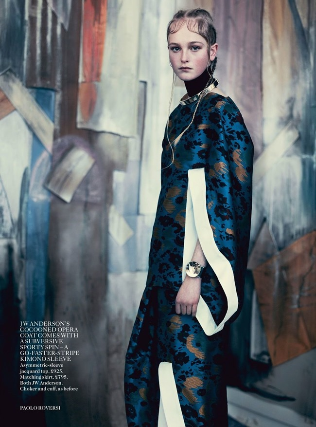 VOGUE UK Jean Campbell in Garden Display by Paolo Roversi. Francesca Burns, May 2014, www.imageamplified.com, Image Amplified (7)