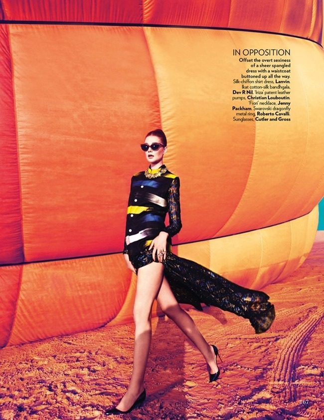 VOGUE INDIA Sarah Pauley in Up, Up & Away by Mazen Abusrour. Spring 2014, www.imageamplified.com, Image Amplified (4)