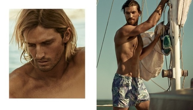 CAMPAIGN Ryan Heavyside & Henrik Fallenius in Active Summer Days for H&M Spring 2014, www.imageamplified.com, Image Amplified (5)
