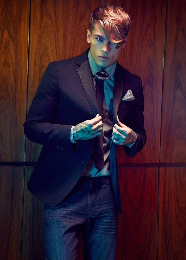 CAMPAIGN Stephen James for William Roast Spring 2014 by Max Abadian. Oliva Le Blanc, www.imageamplified.com, Image Amplified (4)