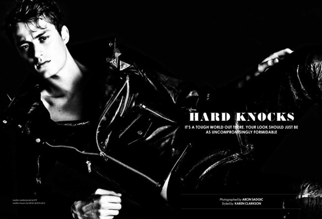 ESSENTIAL HOMME Bastiaan Van Gaalen in Hard Knocks by Arcin Sagdic, Spring 2014, www.imageamplified.com, Image Amplified (2)