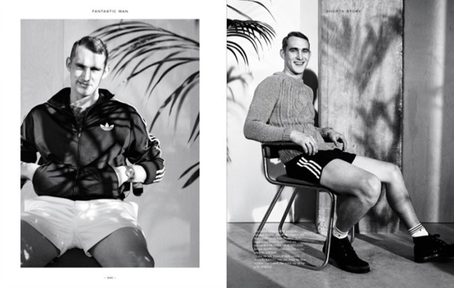 FANTASTIC MAN MAGAZINE Will Chalker in Shorts Story by Benjamin Alexander Huseby. Mattias Karlsson, Spring 2014, www.imageamplified.com, Image Amplified (3)