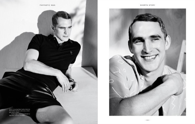 FANTASTIC MAN MAGAZINE Will Chalker in Shorts Story by Benjamin Alexander Huseby. Mattias Karlsson, Spring 2014, www.imageamplified.com, Image Amplified (4)