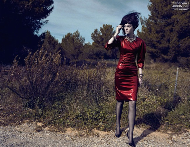 MARIE CLAIRE ITALIA Tess Hellfeuer in Rock n Rebel by Jacques Olivar. Elisabetta Massari, April 2014, www.imageamplified.com, Image Amplified (1)