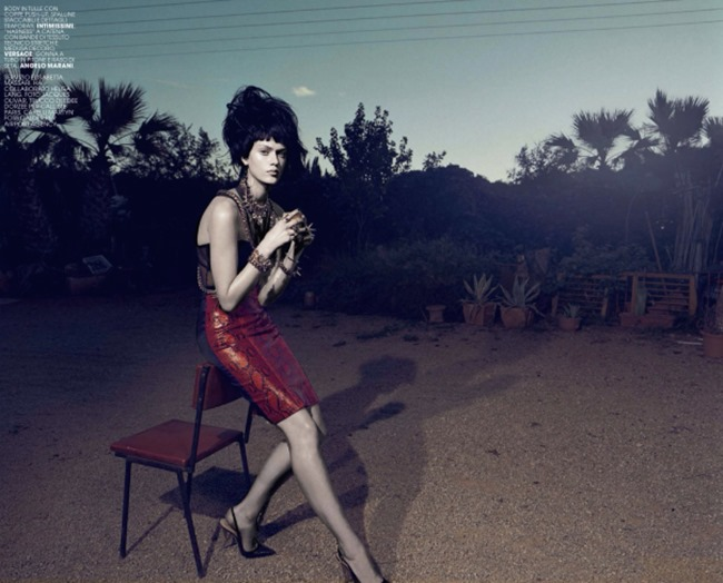 MARIE CLAIRE ITALIA Tess Hellfeuer in Rock n Rebel by Jacques Olivar. Elisabetta Massari, April 2014, www.imageamplified.com, Image Amplified (2)