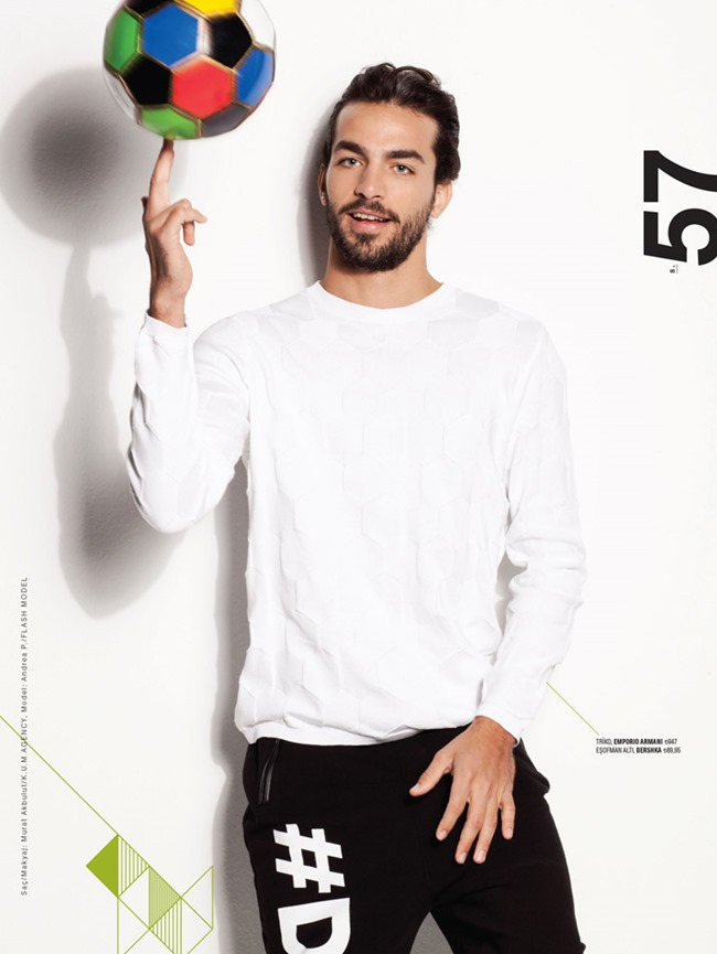 MEN'S HEALTH MAGAZINE Andre Albuquerque by Sinem Yazici. Irem Arkan, Spring 2014, www.imageamplified.com, Image Amplified (1)