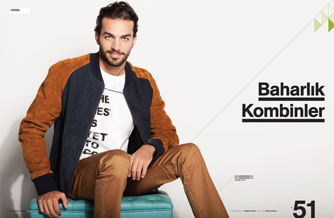 MEN'S HEALTH MAGAZINE Andre Albuquerque by Sinem Yazici. Irem Arkan, Spring 2014, www.imageamplified.com, Image Amplified (2)