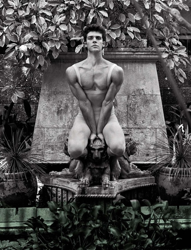 VANITY FAIR ITALIA Roberto Bolle by Bruce Weber. Spring 2014, www.imageamplified.com, Image Amplified