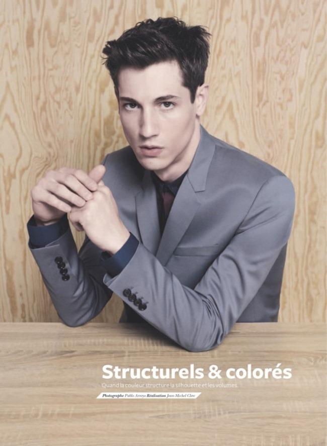 LES ECHOS SERIE LIMITEE Nicolas Ripoll & Arthur Gosse in Structurels & Colores by Pablo Arroyo. Jean Michel Clerc, Spring 2014, www.imageamplified.com, Image Amplified (1)