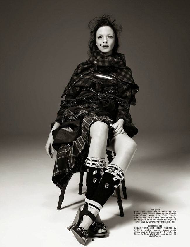 DAZED & CONFUSED MAGAZINE Mariacarla Boscono by Willy Vanderperre. Panos Yiapanis, Summer 2014, www.imageamplified.com, Image Amplified (9)
