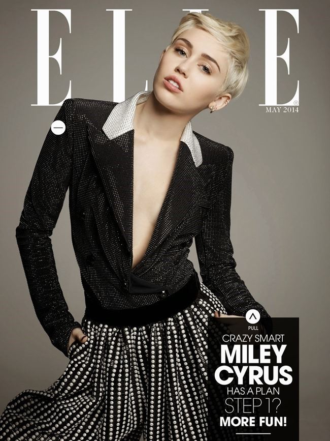 ELLE MAGAZINE Miley Cyrus by Michael Thompson. May 2014, www.imageamplified.com, Image Amplified (2)