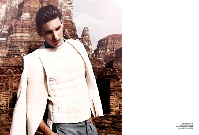 ESSENTIAL HOMME MAGAZINE Dominik Bauer by Giovanni Squatriti. Giuseppe Ceccarelli, Spring 2014, www.imageamplified.com, Image Amplified (5)