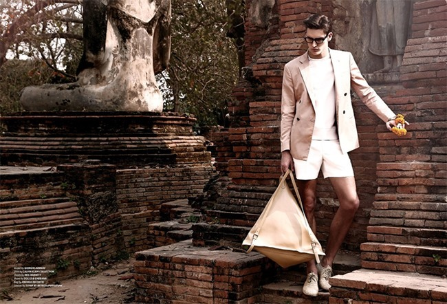 ESSENTIAL HOMME MAGAZINE Dominik Bauer by Giovanni Squatriti. Giuseppe Ceccarelli, Spring 2014, www.imageamplified.com, Image Amplified (6)