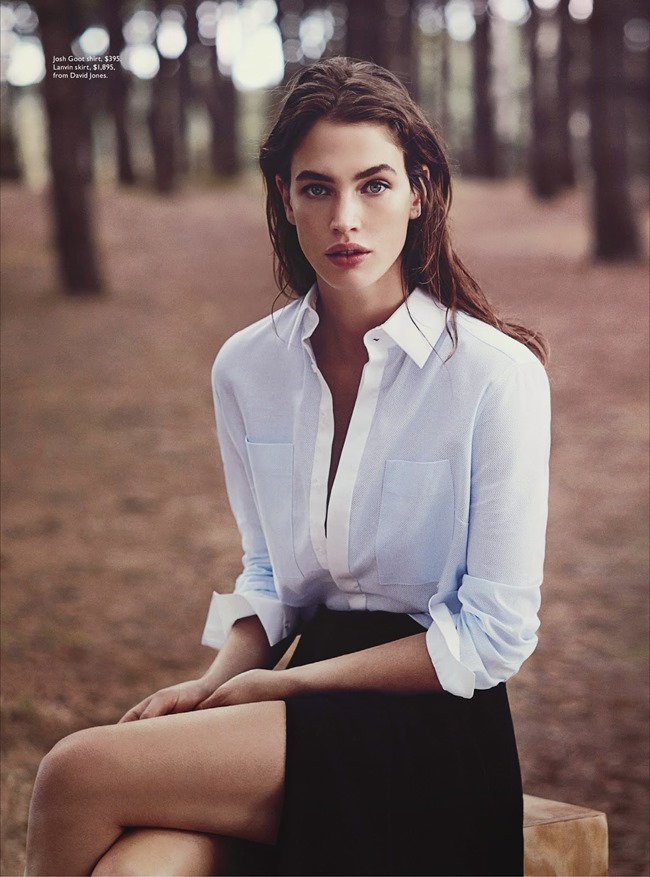 VOGUE AUSTRALIA Crista Cober in Into The Woods by Will Davidson. Christine Centenera, May 2014, www.imageamplified.com, Image Amplified (4)