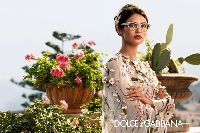 CAMPAIGN Bianca Balti for Dolce & Gabbana Eyewear Spring 2014 by Domenico Dolce. www.imageamplified.com, Image Amplified (1)