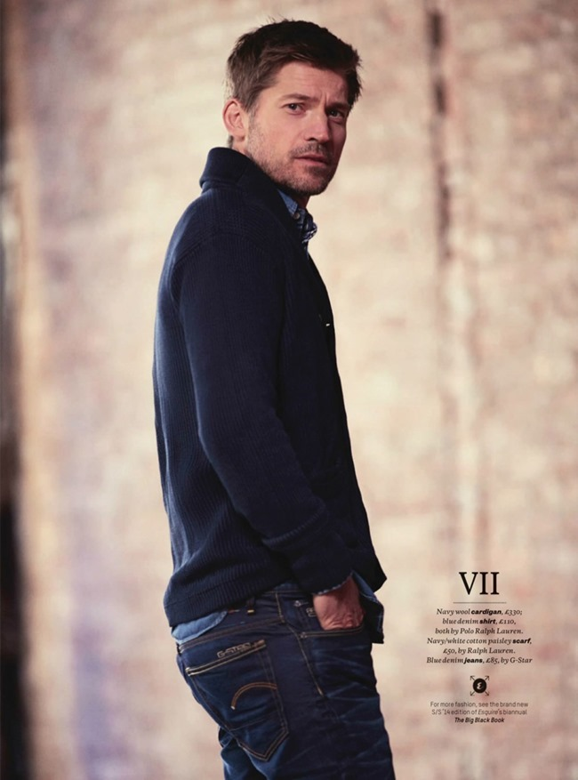 ESQUIRE UK Nikolaj Coster-Waldau in Game Changer by James Dimmock, April 2014, www.imageamplified.com, Image Amplified (6)