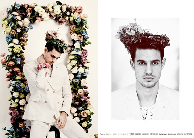 ADAM IN TOWN MAGAZINE Flower Overdose by Erman Istahli. Oguz Erel, Spring 2014, www.imageamplified.com, Image Amplified (5)