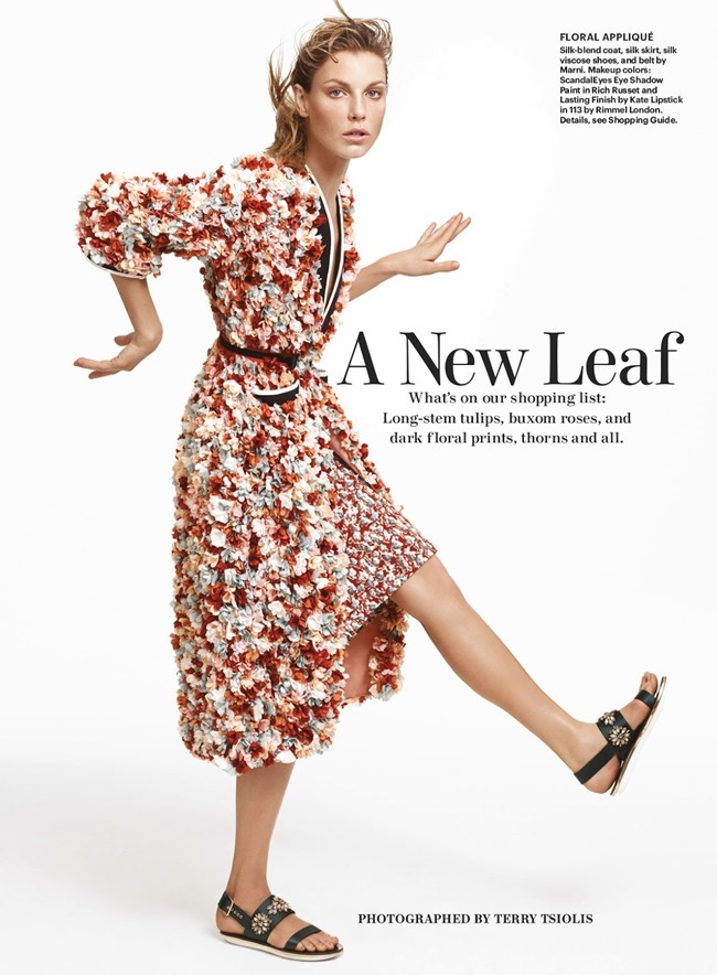 ALLURE MAGAZINE Angela Lindvall in A New Leaf by Terry Tsiolis. Paul Cavaco, May 2014, www.imageamplified.com, Image amplified (3)