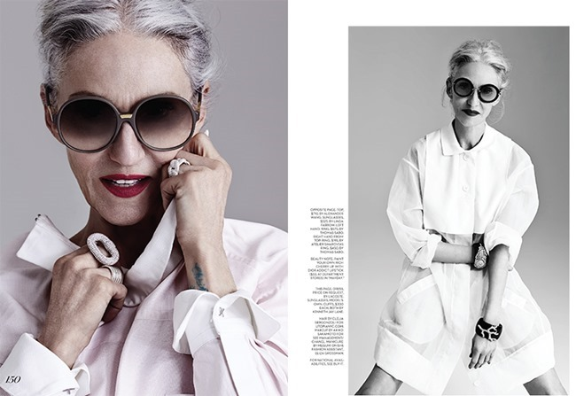 FASHION MAGAZINE Linda Rodin by Susie Sheffman. May 2014, www.imageamplified.com, Image amplified