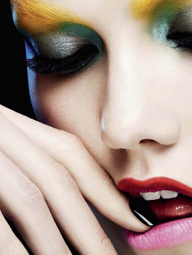 L'EXPRESS STYLES Karlie Kloss in Color Power by Ben Hassett. Mika Mizutani, April 2014, www.imageamplified.com, Image amplified (4)
