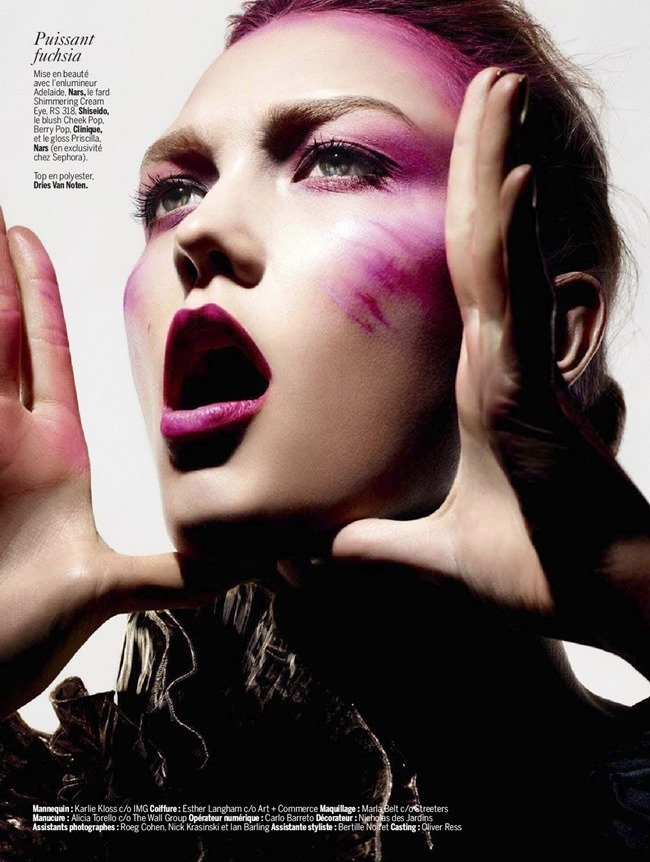 L'EXPRESS STYLES Karlie Kloss in Color Power by Ben Hassett. Mika Mizutani, April 2014, www.imageamplified.com, Image amplified (14)