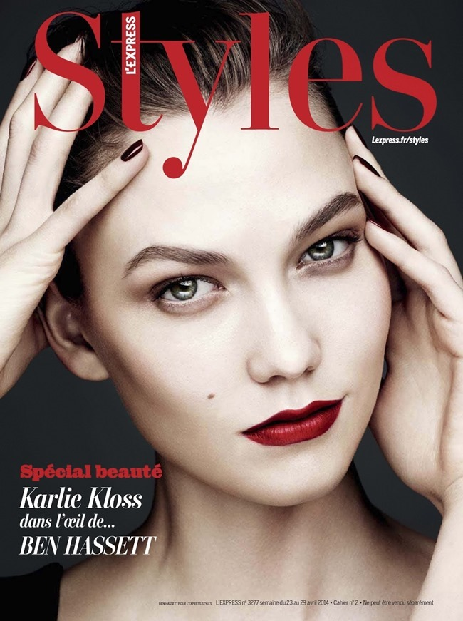 L'EXPRESS STYLES Karlie Kloss in Color Power by Ben Hassett. Mika Mizutani, April 2014, www. imageamplified.com, Image amplified (1)