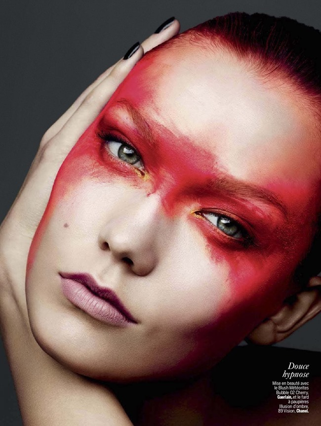 L'EXPRESS STYLES Karlie Kloss in Color Power by Ben Hassett. Mika Mizutani, April 2014, www.imageamplified.com, Image amplified (2)