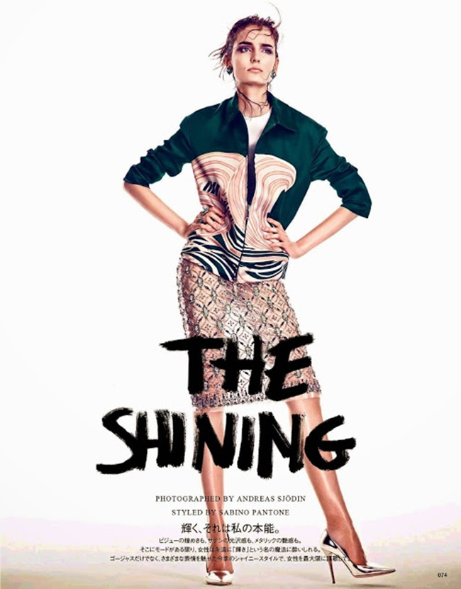 VOGUE PARIS Zuzanna Bijoch in The Shining by Andreas Sjodin. Sabino Pantone, May 2014, www.imageamplified.com, Image Amplified (8)