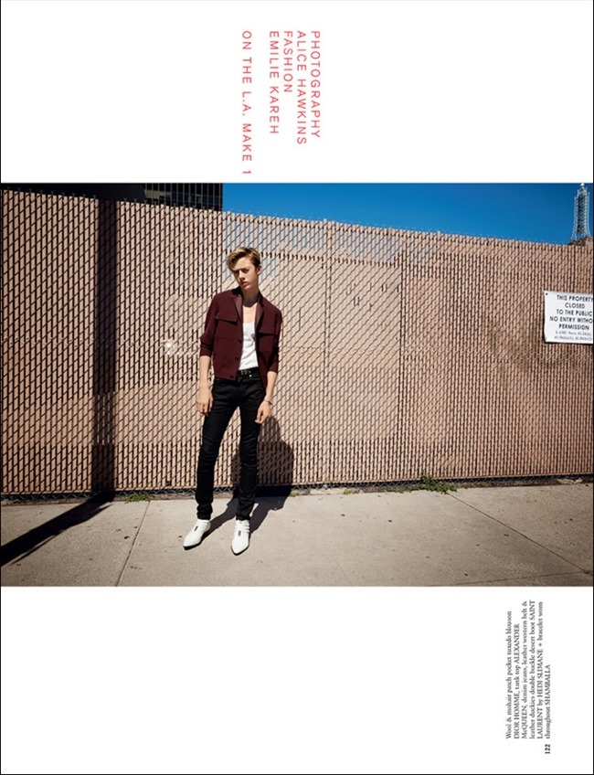 ARENA HOMME  MAGAZINE Lucky Blue by Alice Hawkins, Spring 2014, www.imageamplified.com, Image amplified (3)