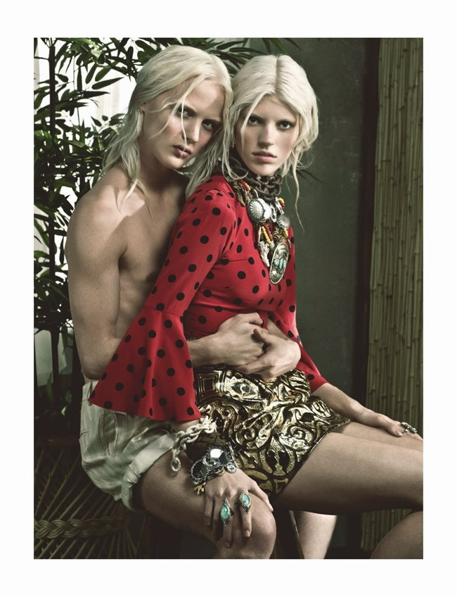 NUMERO MAGAZINE Devon Windsor in Tropique Du Cancer by Victor Demarchelier. Charles Varenne, May 2014, www.imageamplified.com, Image Amplified (7)