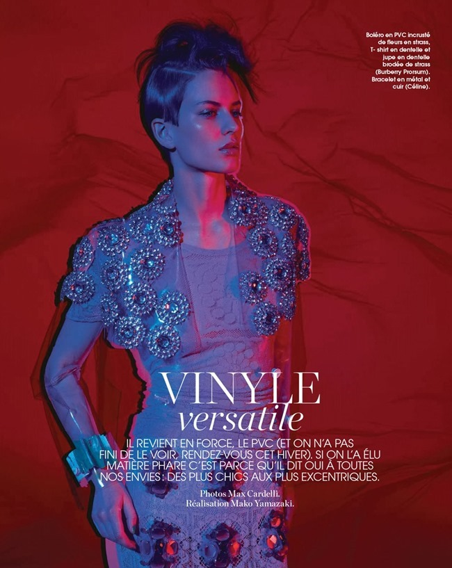 MARIE CLAIRE FRANCE Ellinore Erichsen in Vinyle Versatile by Max Cardelli. Mako Yamazaki, June 2014, www.imageamplified.com, Image Amplified