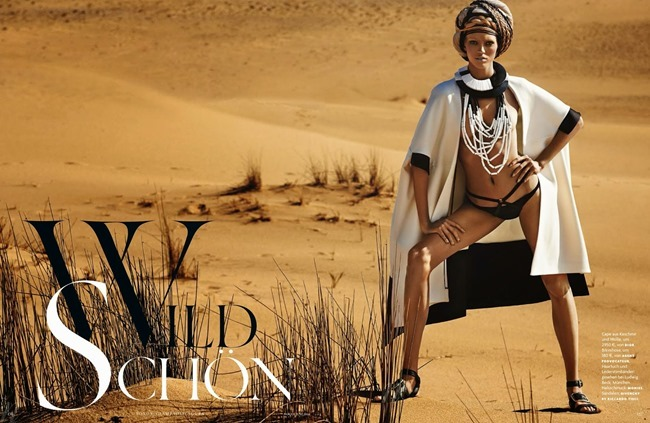 VOGUE GERMANY Devon Windsor in Wild Schon by Giampaolo Sgura. Christiane Arp, June 2014, www.imageamplified.com, Image amplified (1)
