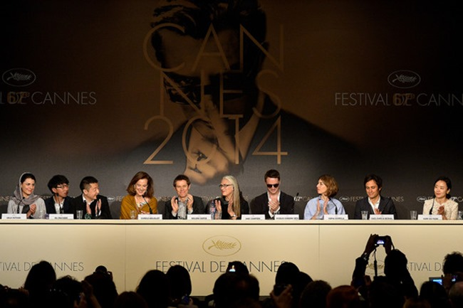 CANNES FILM FESTIVAL COVERAGE Sofia Coppola, Gael Garcia Bernal & Willem Dafoe included in the Members of the Jury Photocall & Red Carpet 2014. www.imageamplified.com, Image Amplified (6)