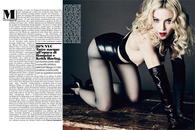 L'UOMO VOGUE Madonna in Art for Freedom by Tom Munro. Arianne Phillips, June 2014, www.imageamplified.com, Image Amplified (5)
