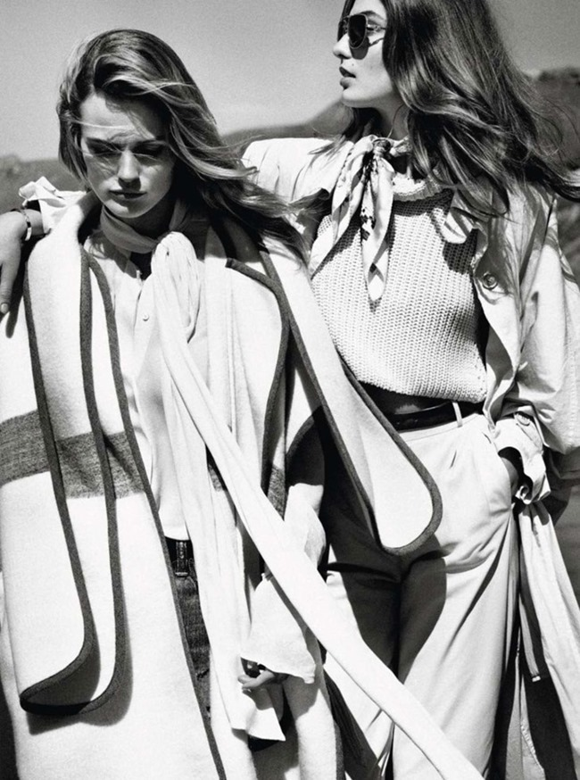 VOGUE PARIS Andreea Diaconu & Edita Vilkeviciute by Mikael Jansson. May 2014, www.imageamplified.com, Image Amplified (2)