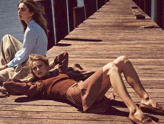 VOGUE PARIS Andreea Diaconu & Edita Vilkeviciute by Mikael Jansson. May 2014, www.imageamplified.com, Image Amplified (3)