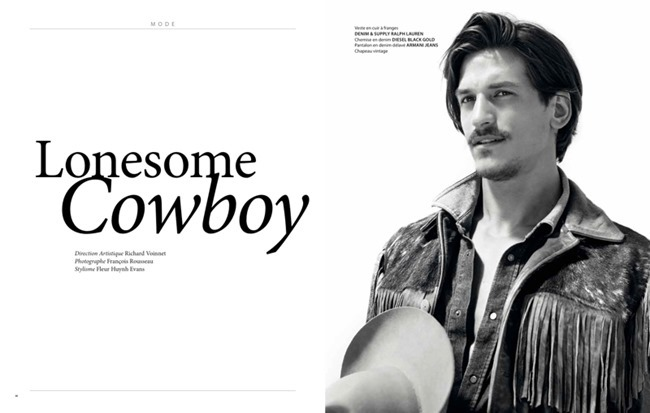 APOLLO MAGAZINE Jarrod Scott in Lonesome Cowboy by Francois Rousseau. Fleur Huynh Evans, Spring 2014, www.imageamplified.com, Image amplified (1)