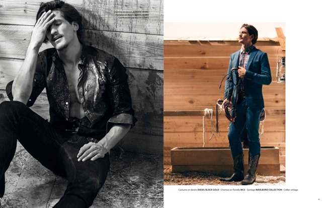 APOLLO MAGAZINE Jarrod Scott in Lonesome Cowboy by Francois Rousseau. Fleur Huynh Evans, Spring 2014, www.imageamplified.com, Image amplified (2)
