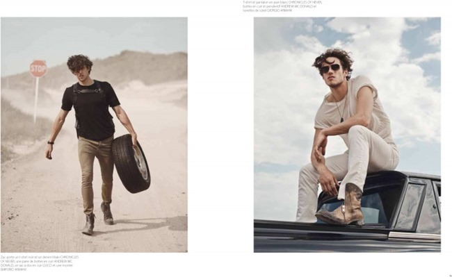 APOLLO MAGAZINE Jordan & Zac Stenmark in The Outback by Trevor King. Fleur Huynh Evans, Spring 2014, www.imageamplified.com, Image amplified (2)