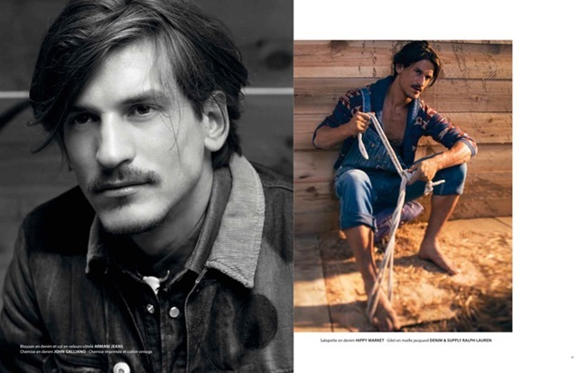 APOLLO MAGAZINE Jarrod Scott in Lonesome Cowboy by Francois Rousseau. Fleur Huynh Evans, Spring 2014, www.imageamplified.com, Image amplified (6)