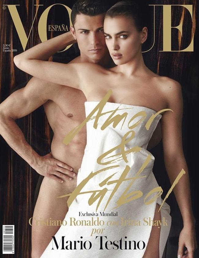 PREVIEW Irina Shayk & Christiano Ronaldo for Vogue Spain, June 2014 by Mario Testino. www.imageamplified.com, Image Amplified (6)